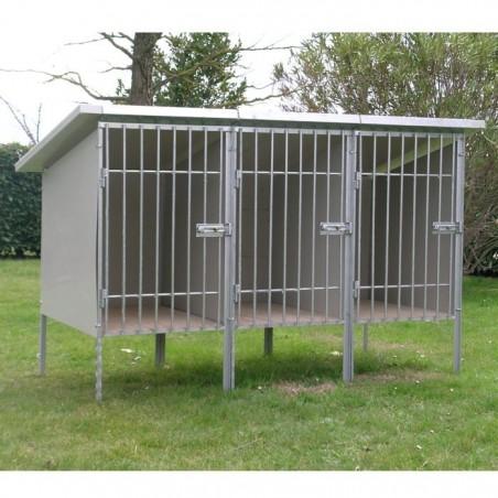 Box d'attente pour chien