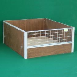 Caisse de mise bas pour chien en bois